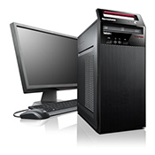 Torre reacondicionada, de segunda mano Lenovo ThinkCentre Edge 72 i5-3470s(2.90GHz) 4GB 240GB SSD